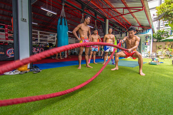Benefits of Battle Ropes Training for Muay Thai