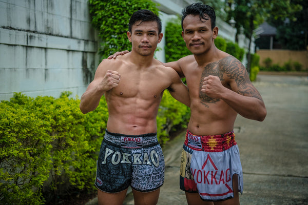 Iquezang Kor Rungthanakeat Comes to YOKKAO Training Center Bangkok