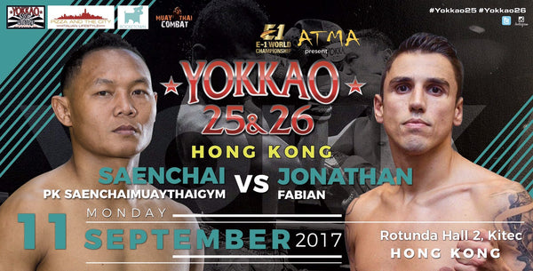 "Saenchai vs Jonathan ""Scarface"" Fabian at YOKKAO 26 Hong Kong!"