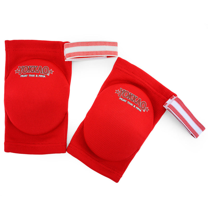 Yokkao Muay Thai Boxing Elbow Guard Red Cotton