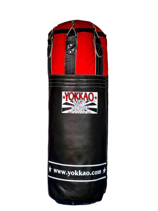 YOKKAO Black/Red Heavy Bag