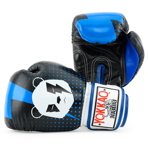 Black Panda Boxing Gloves
