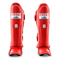 Matrix Red Shin Guards