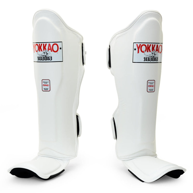 Matrix White Shin Guards