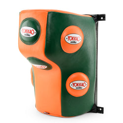 Wall Mounted Heavy Bag Eden Green/Orange Tiger