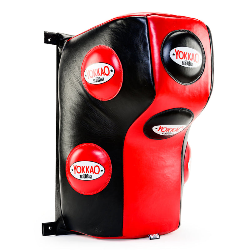 Wall Mounted Heavy Bag Red/Black