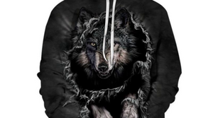 Mountain Wolf Hoodies 3D unisex hoodies - SmallTown Shop