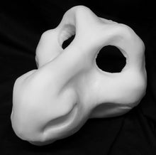 Load image into Gallery viewer, Dragon foam head base for costumes, mascots and fursuits.
