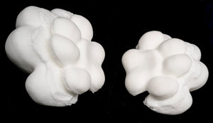 Large puffy paw pads for costumes, mascots and fursuits (One pair)