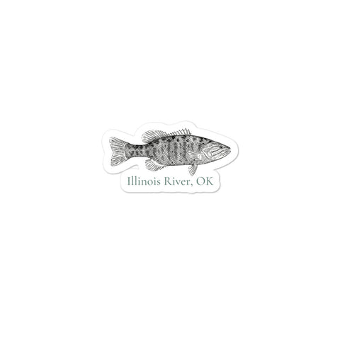 Smallmouth Bass Stickers