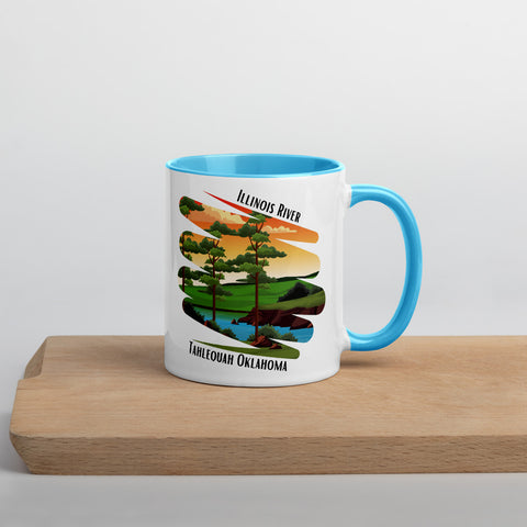 Illinois River Mug with Color Inside