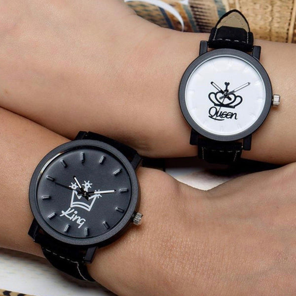 King & Queen Couple's Watches