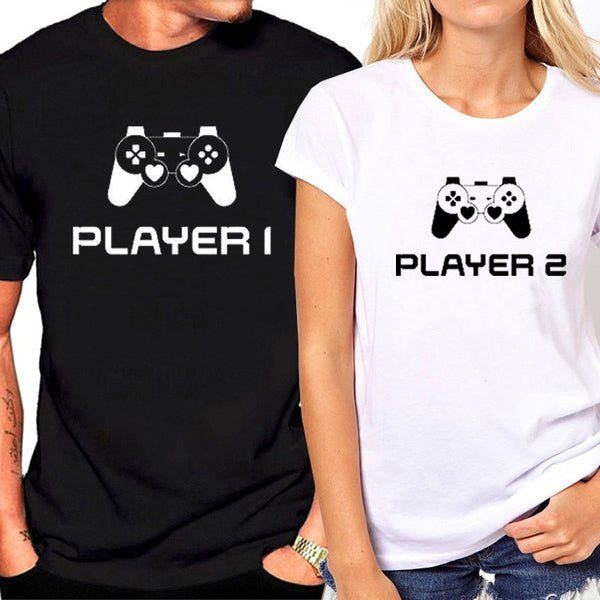 Player 1 & Player 2 Shirts