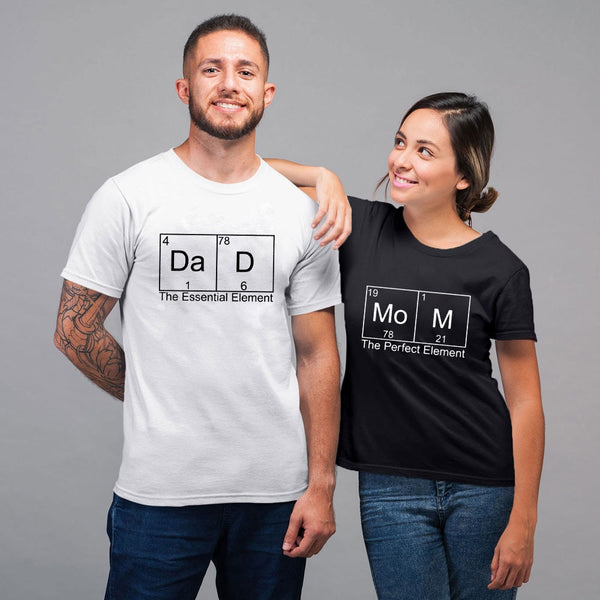 Mom & Dad Periodic Shirts