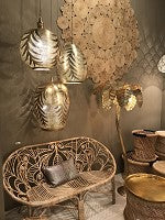 Lights Hanging From Ceiling | Aspire Verde Gold - Moroccan Lamps