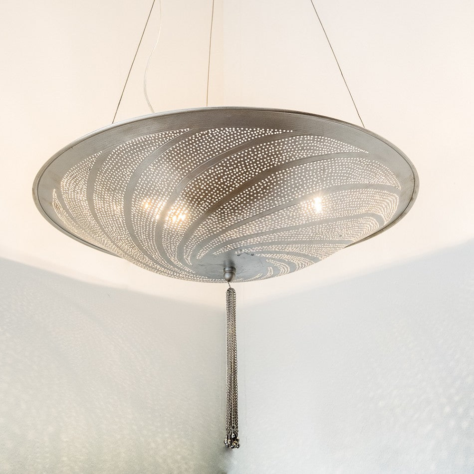 Hanging Light Lanterns | Tanoura Swirl - Moroccan Lamps