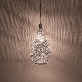 Hanging Ceiling Lamp | Majestic Swirl - Moroccan Lamps
