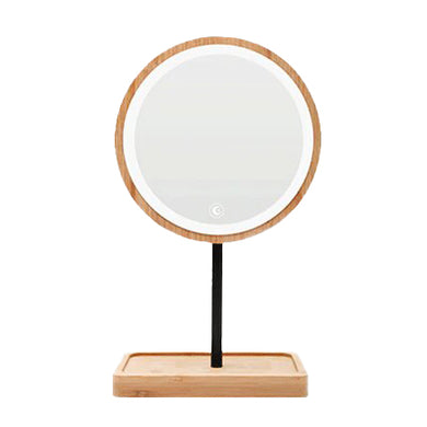 Wooden LED Beauty Mirror