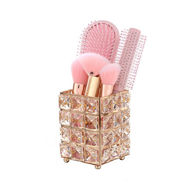 Crystal  Makeup Brushes Organizer