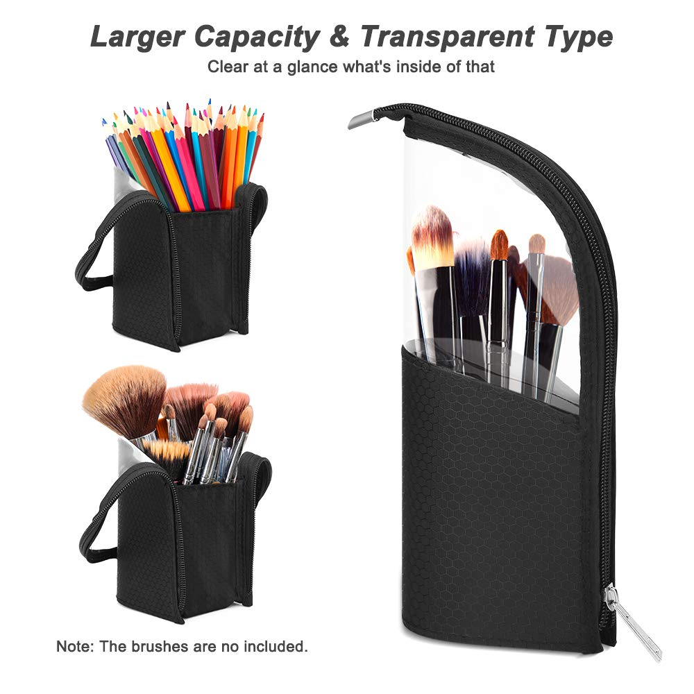 Load image into Gallery viewer, Travel Make-up Brush Holder
