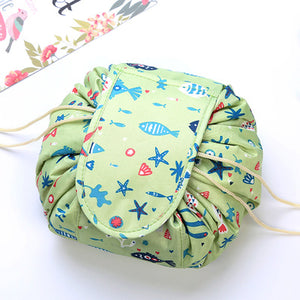 Drawstring Travel Cosmetic Pouch