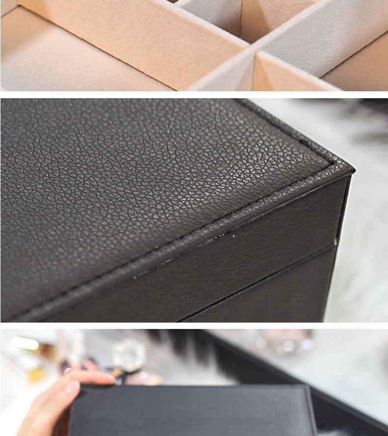 Load image into Gallery viewer, Leather Jewelry Box
