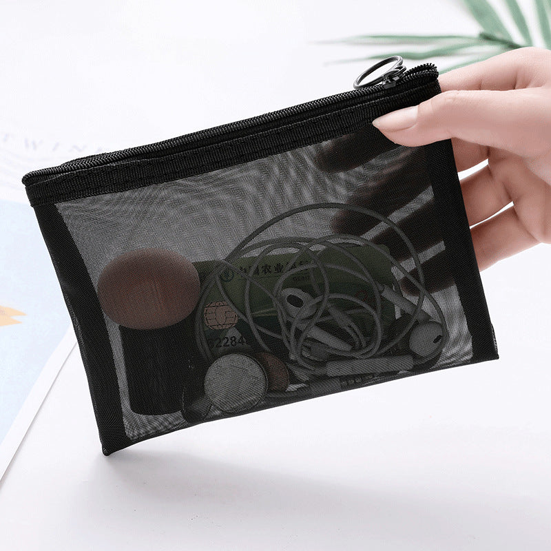 Load image into Gallery viewer, Transparent Cosmetics Kit Bags