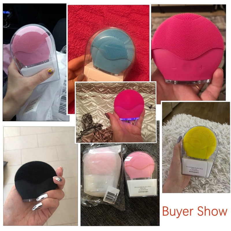 Load image into Gallery viewer, Waterproof Silicone Facial Brush