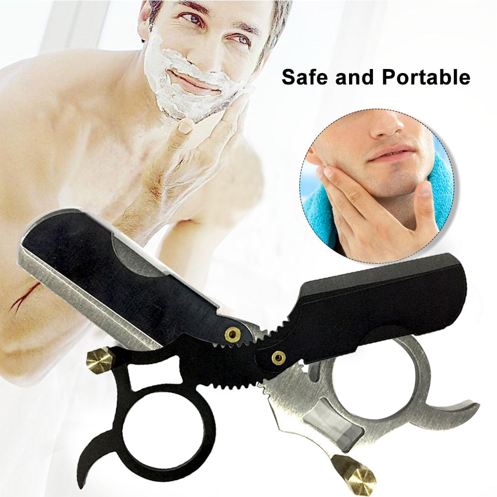 Load image into Gallery viewer, Professional Barber Straight Edge Razor