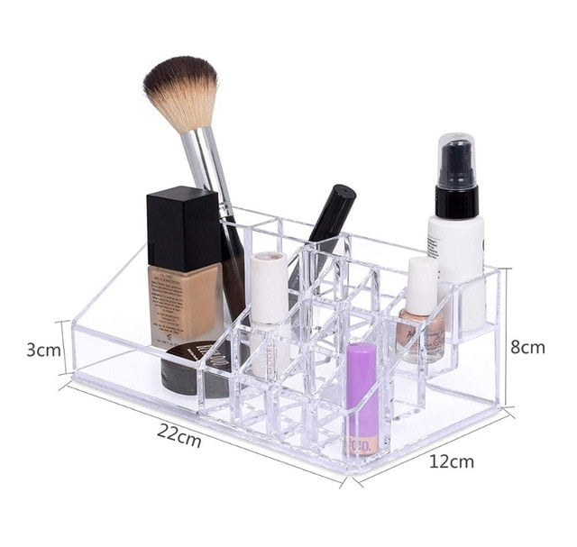 Load image into Gallery viewer, Clear Cosmetics Holders Set