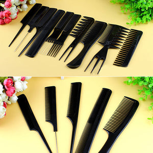 Professional Hair Combs Set