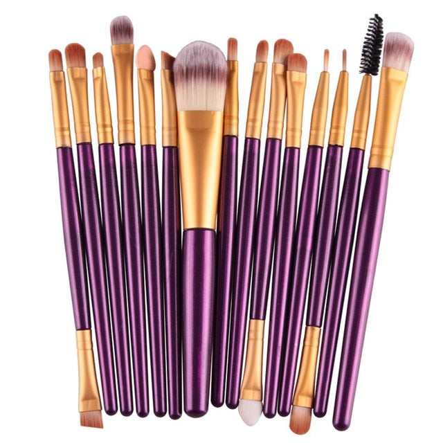 Load image into Gallery viewer, 18Pcs Makeup Brushes Set