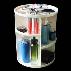 Rotating Makeup Organize