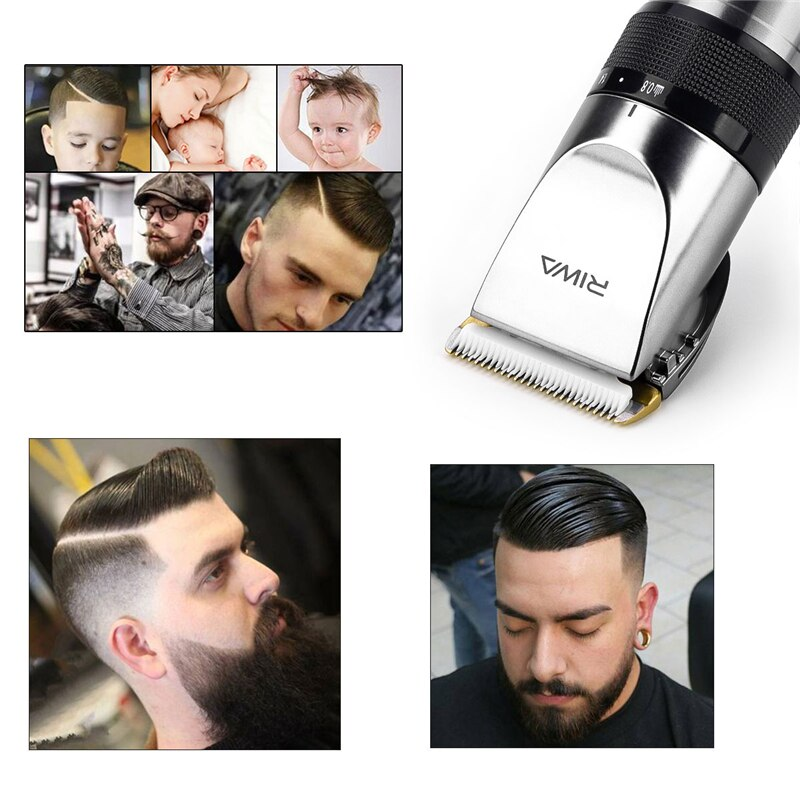 Load image into Gallery viewer, Professional Titanium Hair Trimmer