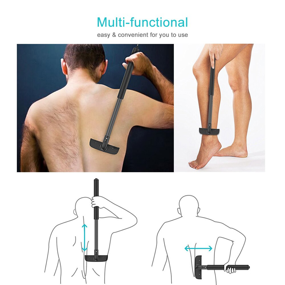 Load image into Gallery viewer, Stretchable Back Shaver