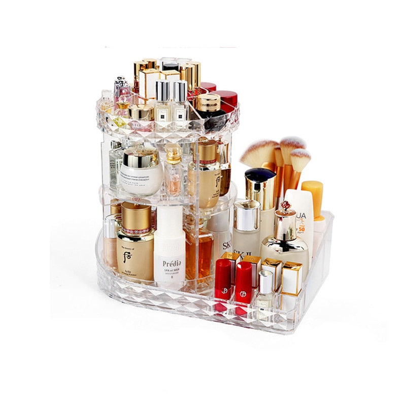 Load image into Gallery viewer, Fashion Rotating Makeup Organizer