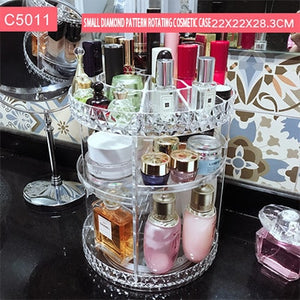 Fashion Rotating Makeup Organizer