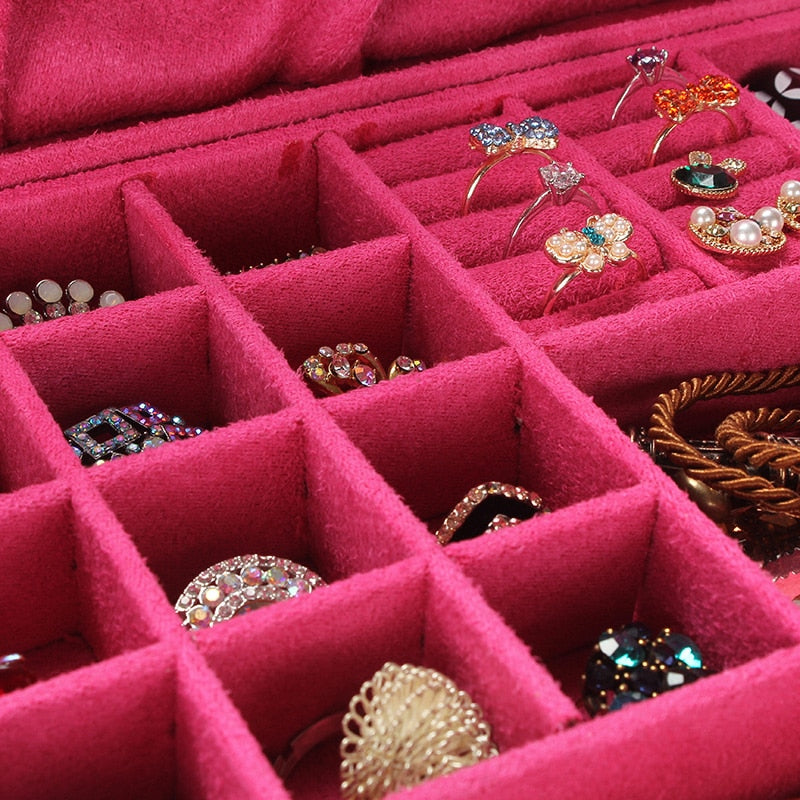 Load image into Gallery viewer, Flannel Jewelry Box