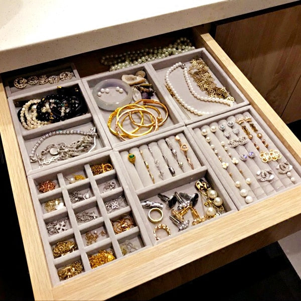 Load image into Gallery viewer, Jewelry organizer to fit in a drawer