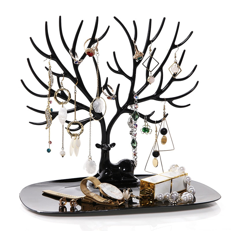 DEER'S ANTLERS JEWELRY RACKS