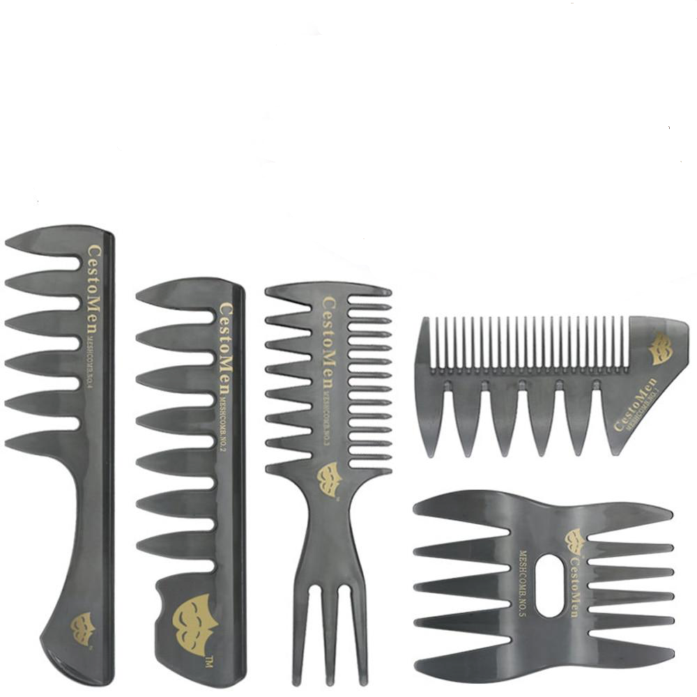 Load image into Gallery viewer, Large Tooth Styling Combs Set