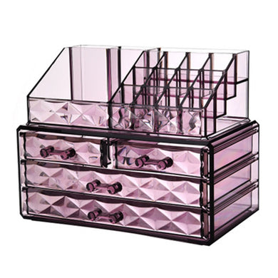 Clear Makeup Storage Organizer