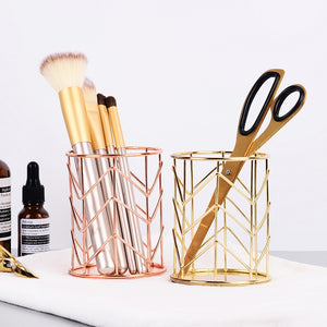 Iron Makeup Storage Basket