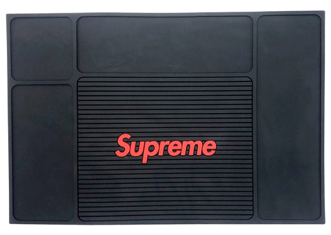 Supreme Barber Barber Mat - Black