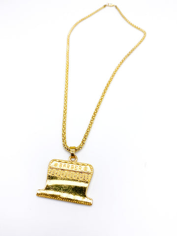 Razor Necklace (Gold)