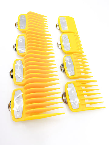 Wahl Premium Guards- Yellow