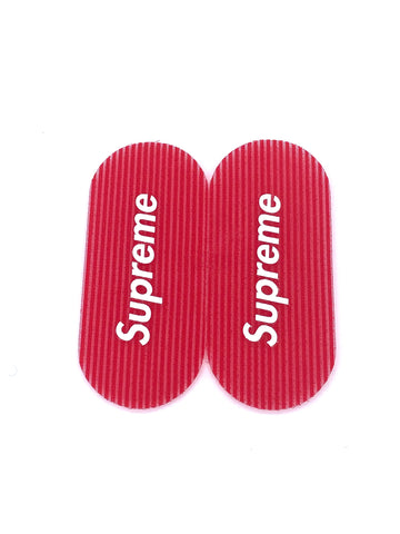 Red Supreme Hair Grippers (2 Pack)