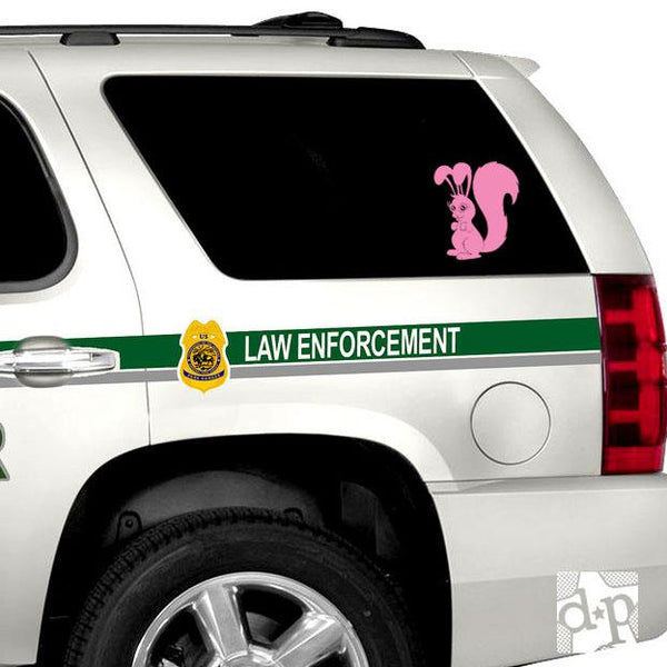 Squabbit Vinyl Decal