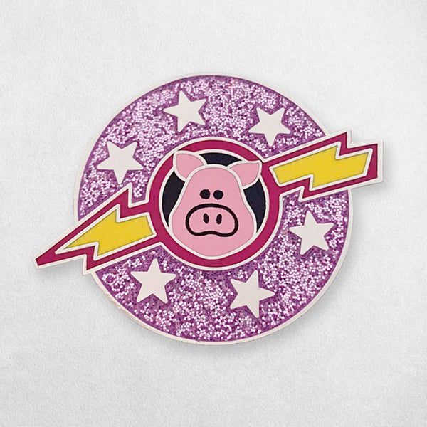 Space Pigs Enamel Pin