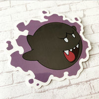 Boo Ghastly Vinyl Sticker
